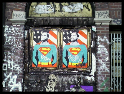 Street Art in NYC, October 2008