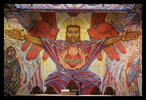 Angry Christ by Alfredo Ossorio on Negros, Philippines