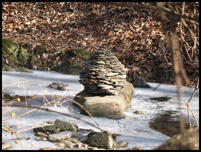 Stone bees by Rose Marie Berger Jan 2009
