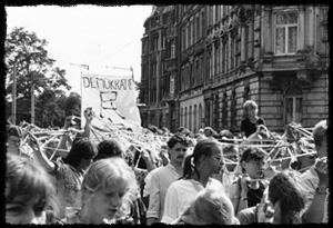 Protests during the Church Congress in Leipzig (July 9, 1989)