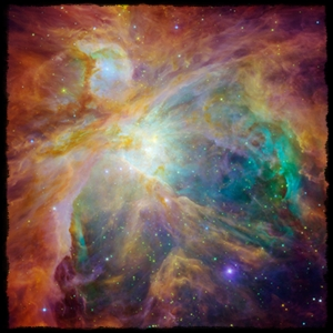 Orion Nebula from Hubble