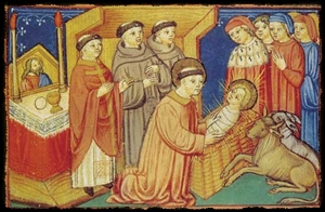 Francis and the Christ Child