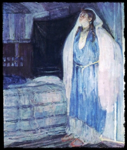 "Henry Ossawa Tanner ""Virgin and Child"""