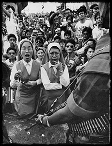 Catholic sisters in Philippines, 1986