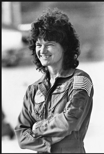 Sally Ride, 1983.