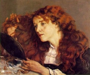 The Beautiful Irish Woman, 1866, by Gustave Courbet