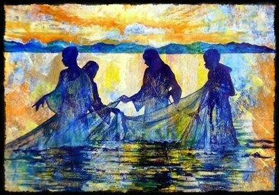 """Fishers of Men"" by Rex DeLoney, Little Rock, Arkansas"