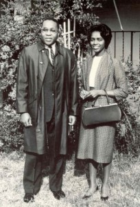 Vincent Gordon Harding and Rosemarie Freeney Harding,  1950s (Photo courtesy of Mennonite Historical Bulletin)