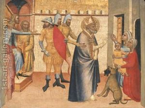 The-Arrest-And-Miracles-Of-Saint-Blaise
